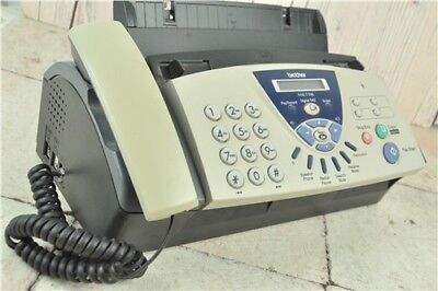 Brother FAX-T106 Fax Machine - Answer Phone - Mono Copier Working & PAT Tested