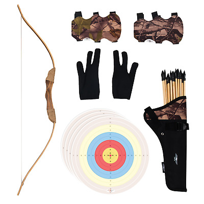 UTeCiA 30 Pcs Complete Archery Set for Kids & Beginners – Bow and arrow for kids