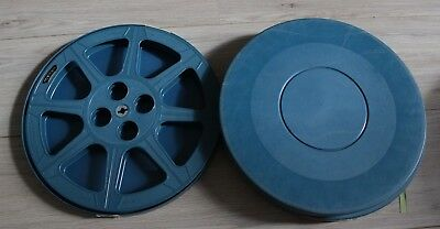 16mm Tuscan Film Movie Reel and Case - 1200ft x 2 - JOBLOT!