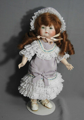"""Antique Reproduction Germany Doll 13""""tall"""