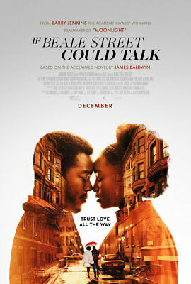 If Beale Street Could Talk (2018) D/S Orig Movie Poster 27x40 Jenkins Baldwin