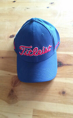 NEW 2016 TITLEIST Bonded Tech Performance Hat - Navy - S M -  17.00 ... f92045842bf