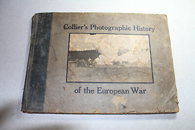 1916 Collier's Photographic History of the European War - Huge WW1 Picture Book