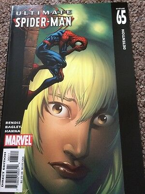Ultimate Spider-man #65 Marvel Comics Bendis Bagley