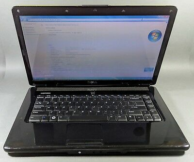 Dell Inspiron 1545 Intel Core 2 Duo 2.10GHz 2gb Memory 160gb HDD Win 7 (Green)