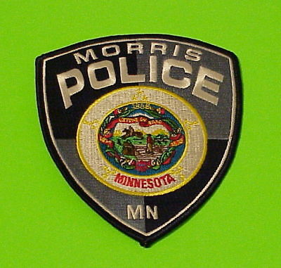 Morris  Minnesota  Mn   Police Patch   Free Shipping!!!