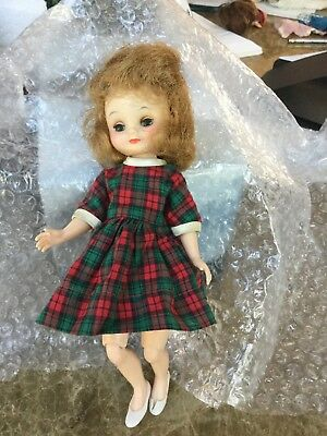 "VINTAGE 8"" American Character BETSY MCCALL DOLL With Original Dress, shoes +"