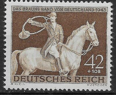 Germany Third Reich Mi# 854 MNH Brown Ribbon of Germany 1943 **