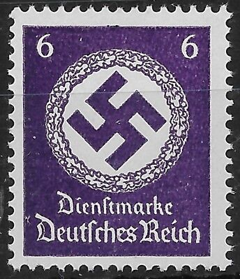 Germany 3rd Reich Mi# 169 Official Stamp Issued 1942/44 MNH **