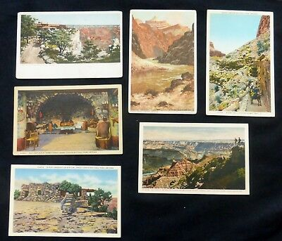 GRAND CANYON  6 Post Cards Mixed Ages  #3142