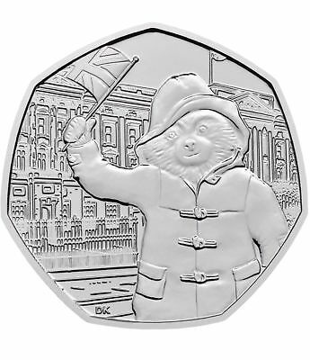 2018 Paddington Bear Palace 50p coins Fifty Pence from bank sealed bags