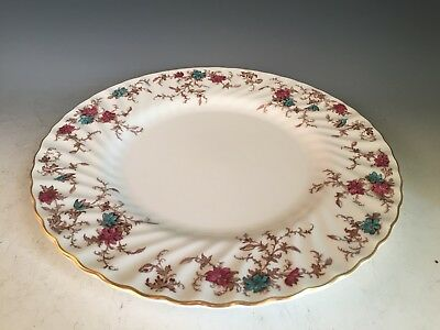 Minton Bone China Ancestral S-376 - Dinner Plate 10 1/2""