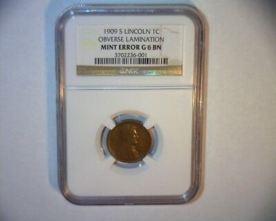 1909 S Lincoln Cent >Key Date<>Very Nice<>Ngc Graded<>Us Coin
