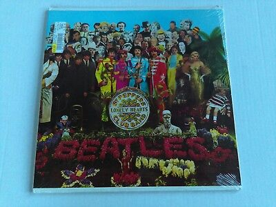 The Beatles SEALED lp record SGT PEPPERS LONELY HEARTS CLUB BAND, 1988 C1-46442