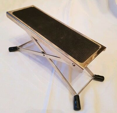 Guitar Foot Stool Stand Folding Metal Rest Acoustic Electric Classical Guitars