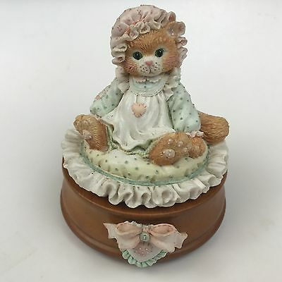 Calico Kittens Just Thinking About You Music Box  620742 Can't Smile Without You
