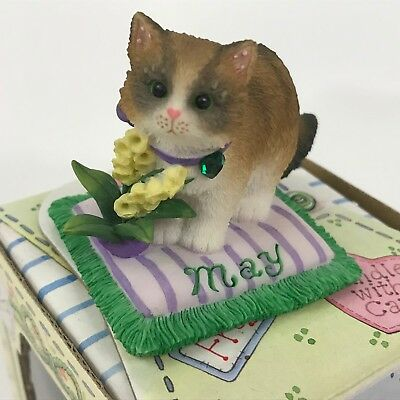 Calico Kittens May Emerald Lily of Valley 784834 Cat of Month Birthstone Flower