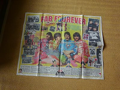 The Beatles The Sun Newspaper Pull-Out Tribute