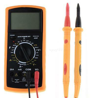 1 Pair Universal Probe Test Leads Cable Digital Multimeter Meter 1000V 10A
