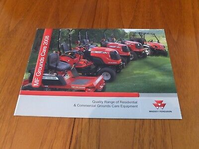 Massey Ferguson Grounds Care 2008 Brochure