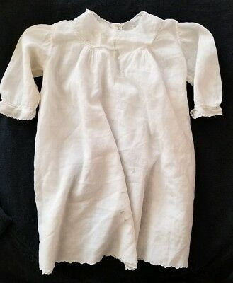 1920s BABY BAPTISM GOWN, HANDMADE