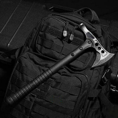 Outdoor Sturdy Jungle Survival Axe Stainless Steel Practical Survival Tools