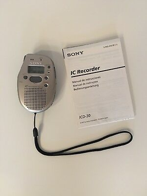 Sony IC Recorder ICD-30