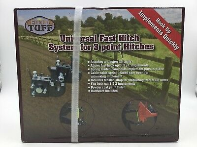 Field Tuff Fast Change Hitch System - for 3 Point Hitches (TFT-01FH) *New*