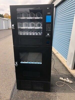 Nice Seaga Cbc16S Combo Automatic Snack Soda Vending Machine Office Deli