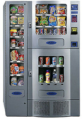 Nice Seaga Planet Antares Office Deli Combo Soda / Snack Vending Machine