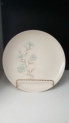 """Taylor Smith & Taylor Ever Yours Boutonniere 10"""" Dinner Plate Vintage 1960's"""