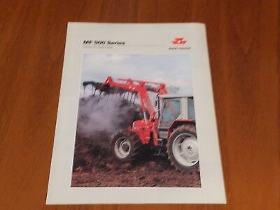 Massey Ferguson 900 Series Loader Brochure