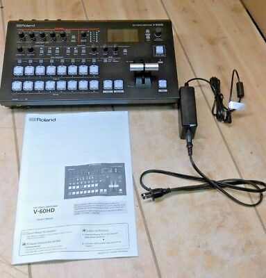 Roland V-60HD Multi-Format HD Video Mixer Switcher - NEW, NO PACKAGING