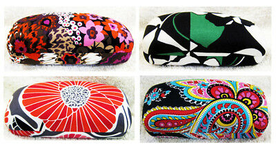VERA BRADLEY Hard Shell  Large Eyeglasses / Sunglasses Case assorted New w Tag