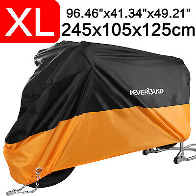 NEVERLAND Motorcycle Cover Waterproof Outdoor Rain Dust UV Scooter Protector XL