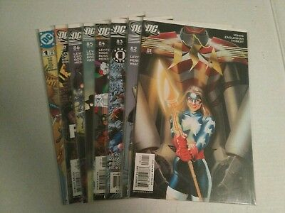JSA (1999) lot 81 82 83 84 85 86 87 Annual 1 all NM Justice Society