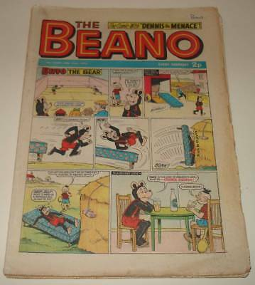 Lot of 7 x BEANO Comics Jan - March 1972  VG Condition