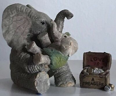 """Tuskers Country Artist Extremely Rare & Retired Love Is """"A Treasure"""" New In Box"""