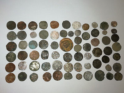 Lot 70 medieval great coins, 13-17 century, Germany, Hungary, Austria, Otoman...