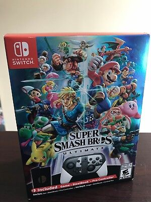 Super Smash Bros Ultimate Special Edition for Nintendo Switch