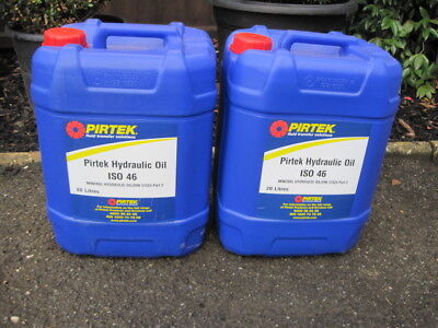 Hydraulic Oil x2 20 Litres Unopened - Kettering NN15