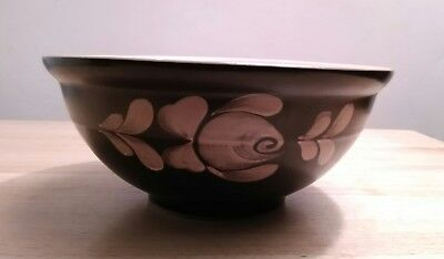 Vintage 1970s Denby 8.5 inch 2 pint Bakewell Studio Pottery Mixing Serving Bowl