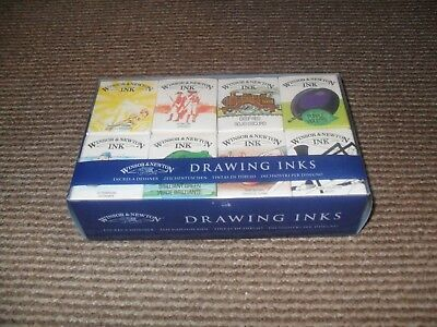 Winsor & Newton William Collection Drawing Inks - New & Sealed