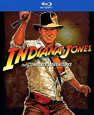 Indiana Jones: The Complete Adventures [5 Discs] (Blu-ray New)