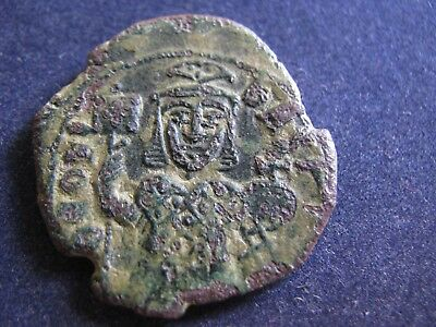 Large Genuine Byzantine Bronze Coin,Unresearched,Has Some Excellent Detail