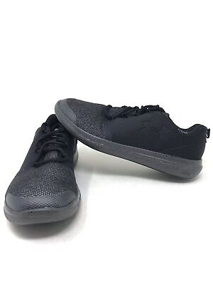 best sneakers b502d cfcfe NEW!! UNDER ARMOUR Grade School Boys Charged 24/7 Low Shoes black ...