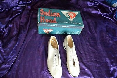 Vintage INDIAN HEAD ATHLETIC FOOTWEAR- Bowling Shoes Womans size 7.5