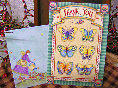 Leanin Tree Greeting Card W/ Envelope Thank You