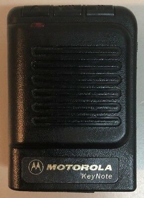Motorola Keynote (Fire) VHF Voice Pager 151.9550 MHz  ~ NO RESERVE