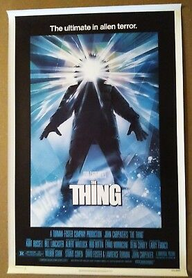 The Thing vintage original 1-Sheet U.S. Poster 1982 Rolled Excellent Condition